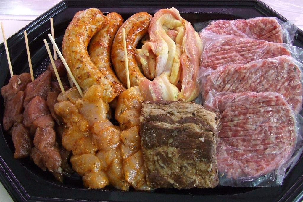 Foto barbecuepakket